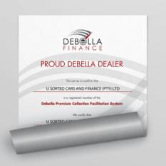 Debella Dealer Certificate Credibility Documents U Sorted Cars & Finance