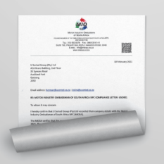 MIO Compliance Letter Credibility Documents U Sorted Cars & Finance